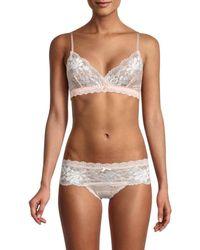 Hanky Panky Women's Alexia Bralette - White - Size S