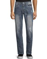 Buffalo David Bitton - Distressed Jeans - Lyst