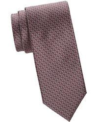 Brioni - Printed Boxes Tie - Lyst
