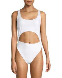 Rachel Roy - One-piece Cut-out Swimsuit - Lyst