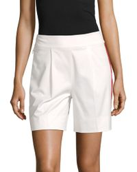Akris Punto Cotton-stretch City Shorts - Multicolour