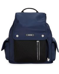 Calvin Klein Nylon Utility Backpack - Blue