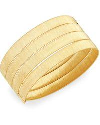 Saks Fifth Avenue 14k Yellow Gold Unicorn Stud Earrings - Multicolour