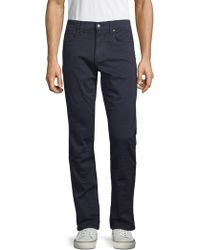 Joe's Jeans - Slim-fit French Terry Jeans - Lyst