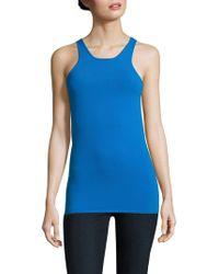 Sandro - Sana Solid Roundneck Tank Top - Lyst