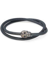 Tateossian - Leather Wrap Bracelet - Lyst