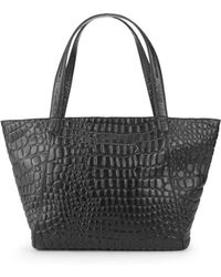 Liebeskind Berlin Textured Leather Tote - Black