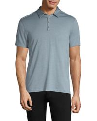 John Varvatos - Hampton Silk Blend Polo - Lyst