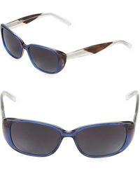 Vera Wang - 53mm Butterfly Sunglasses - Lyst