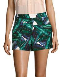 StyleStalker Sierra Printed Shorts - Green