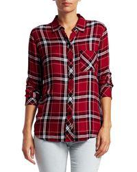 Rails Hunter Plaid Shirt - Red