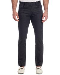 Robert Graham Tailored-fit Woven Trousers - Black