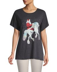 Wildfox - Graphic Short-sleeve Tee - Lyst