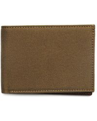 Boconi Blame Slimfold Leather Wallet - Brown