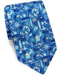 Ferragamo - Tropical Silk Tie - Lyst