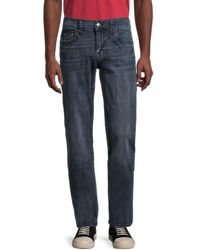 True Religion Ricky Flap Relaxed Straight-fit Jeans - Blue