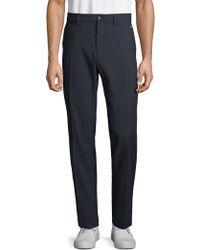 J.Lindeberg Solid Regular-fit Trousers - Blue