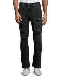 Helmut Lang - Mr 87 Destroyed Slim-fit Jeans - Lyst