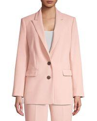 Kate Spade Glitzy Ritzy Collection Classic Blazer - Pink