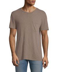 Hudson Jeans - Short-sleeve Cotton Tee - Lyst