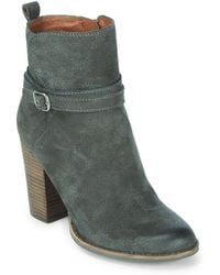 Lucky Brand - Latonya Suede Ankle Boots - Lyst