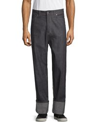 Diesel Black Gold Relaxed-fit Cotton Jeans - Multicolour