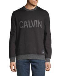 Calvin Klein - Potsherds Plover Graphic Sweatshirt - Lyst