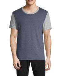 Alternative Apparel - Short-sleeve Colorblock Tee - Lyst