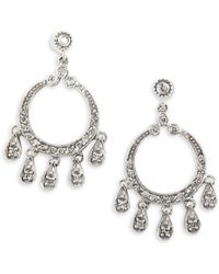 Effy - 0.45 Tcw Diamond & 14k White Gold Chandelier Drop Earrings - Lyst