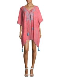 Saks Fifth Avenue - Embroidered Caftan - Lyst