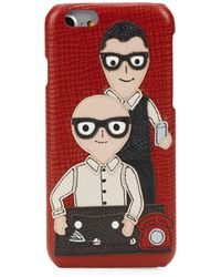 Dolce & Gabbana Family Iphone 6 Case - Red