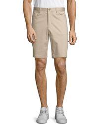 Calvin Klein Classic Bermuda Shorts - Natural