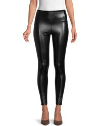 David Lerner High-waist Ankle-length Leggings - Black