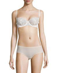 La Perla - Edenic Lace-trim Bikini Top - Lyst