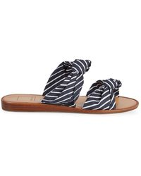 Dolce Vita - Pascal Striped Sandals - Lyst