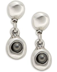 Uno De 50 - Spy Drop Earrings - Lyst