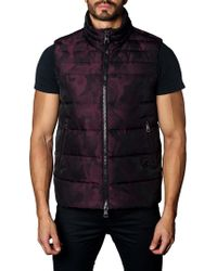 Jared Lang - Aspen Camouflage Down Puffer Vest - Lyst