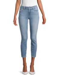PAIGE Women's Verdugo Cropped Jeans - Blue - Size 26 (2-4)