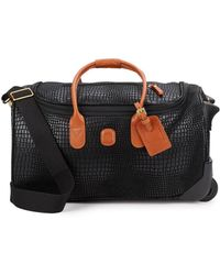 """Bric's - 21"""" Embossed Carry-on Duffel Bag - Lyst"""