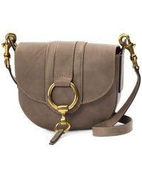 Frye - Ilana Harness Small Leather Saddle Bag - Lyst