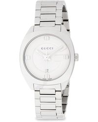 Gucci Stainless Steel Analog Bracelet Watch - Multicolour