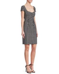 Nanette Lepore - Check Me Out Front Zip Dress - Lyst