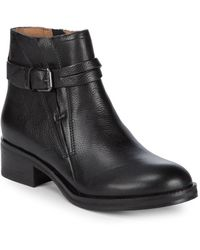 Gentle Souls - Percy Leather Moto Ankle Boots - Lyst