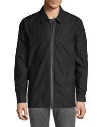 HUGO Euston Zip Shirt - Black