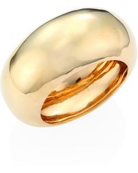 Alexis Bittar Elements 10k Goldplated Liquid Dome Large Bangle - Multicolour