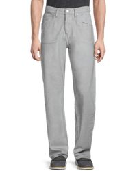 Helmut Lang Reflective Masc Lo Easy Jeans - Grey