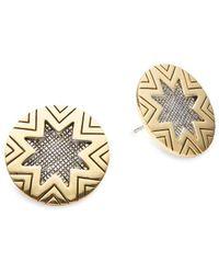House of Harlow 1960 - Starburst Stud Earrings - Lyst