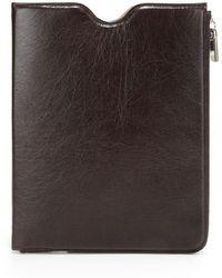 Maison Margiela Leather Sleeve For Ipad 1, 2 & 3 - Multicolour