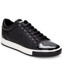 Roberto Cavalli - Leather Lace-up Sneaker - Lyst