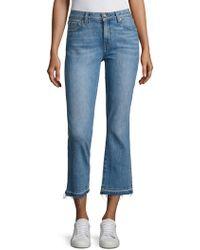 Derek Lam - 10 Crosby Denim Gia Cropped Flared Jeans - Lyst